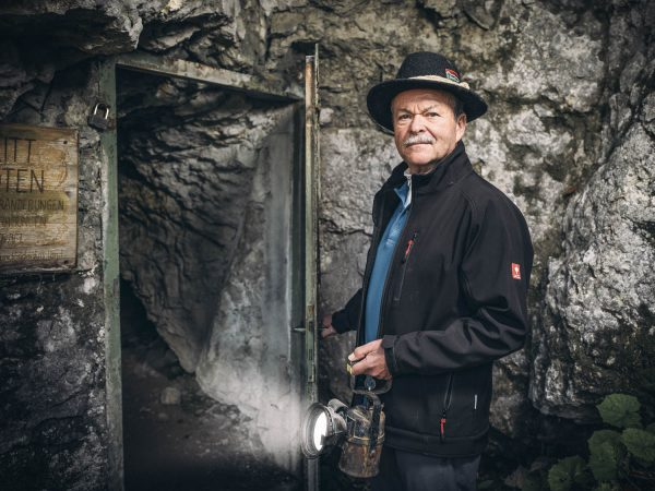 Führung in der Kraushöhle Geodorf Gams