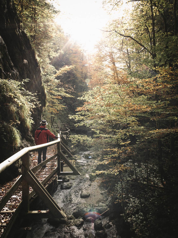 NothKlamm Wanderung im GeoDorf Gams